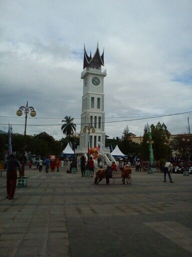 Jam gadang. Bukittinggi city, west sumatera.Indonesia