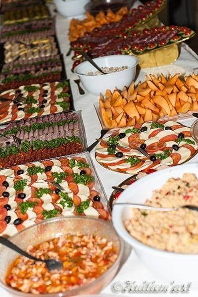 Buffets ljb traiteur mariage mariage repas pinterest - Decoration buffet traiteur ...