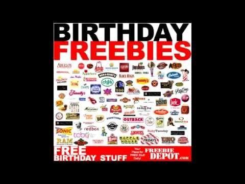 GREAT SITE!!!   700+ BIRTHDAY FREEBIES 2015 – FREE Birthday Food 2015, FREE Birthday Meals & FREE Birthday Stuff!   Freebie-Depot