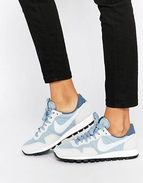 Nike - Air Pegasus '83 - Baskets - Gris bleu