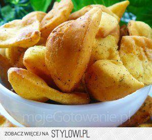 Nachosy - mąka kukurydziana – 1 szklanka - mąka pszenn… na Stylowi.pl