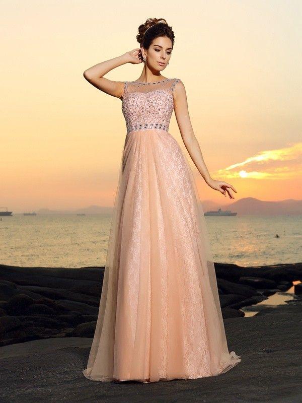 2017 Long Chiffon Prom Dresses!