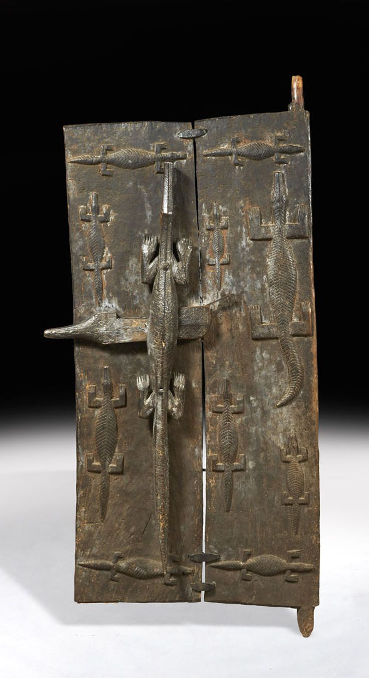 Africa Granary door from the Dogon people of Mali in the village