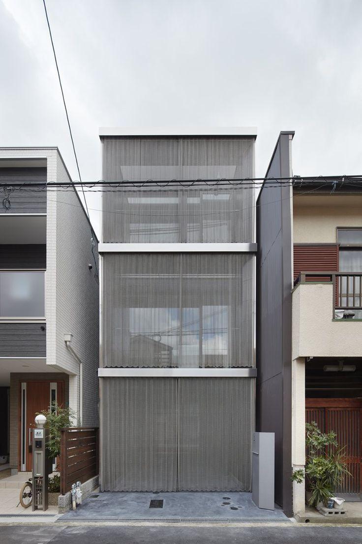 House in minami tanabe 2016 fujiwaramuro architects for Casas minimalistas 2016