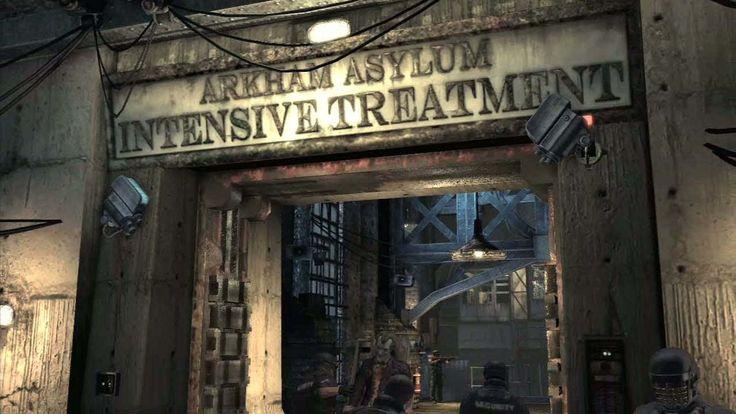Arkham Asylum.