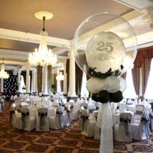 32 best images about anniversary balloon decor on for 25 year anniversary decoration ideas