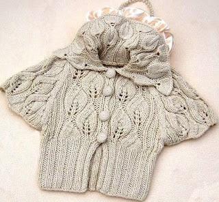 Free Knitting Patterns: Short jacket
