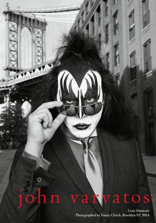 Kiss for John Varvatos Spring/Summer 2014 Campaign