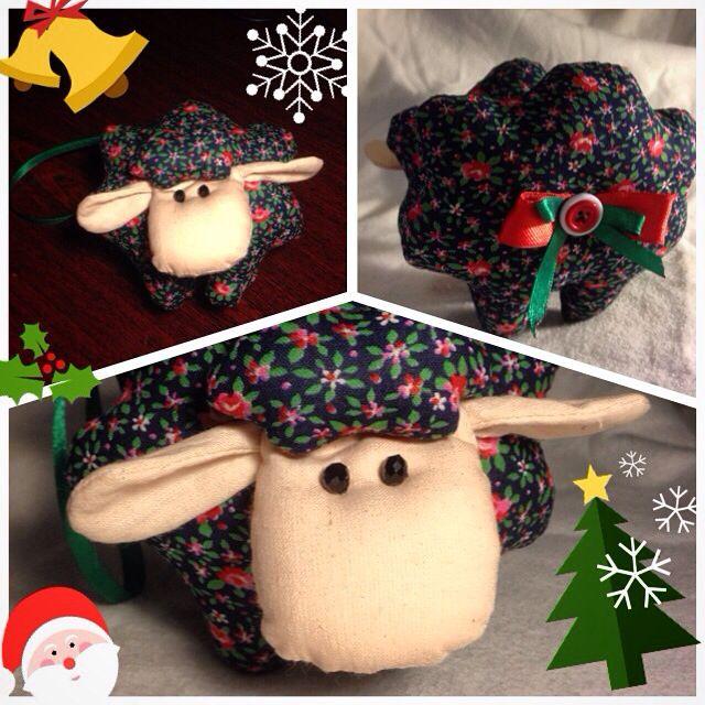 Овечка #новыйгод #нг #нг2015 #творчество #яшью #овца #овечка #барашек #баран #символ2015 #хендмейд #art #nn #nnov #ny #newyear #sheep #smalla_mag #love #fun