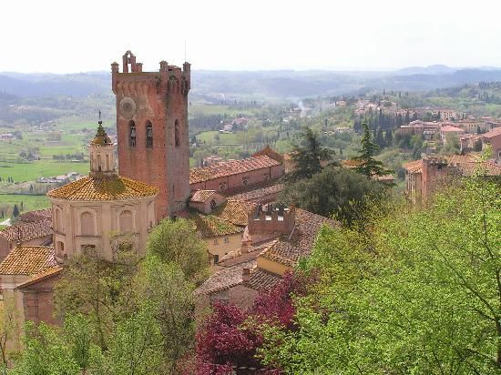 San Miniato - View From Top  Florence Italy