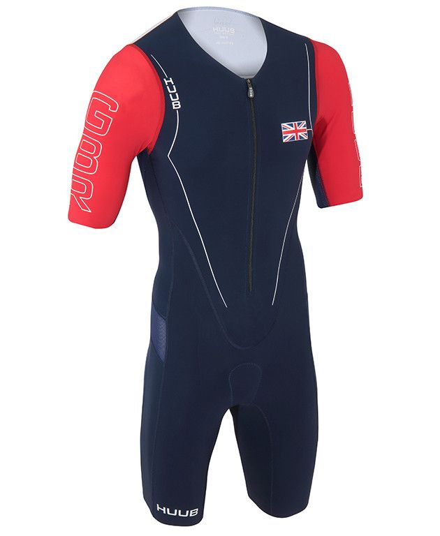 HUUB DS Long Course Patriot GB Triathlon Suit from HUUB Design