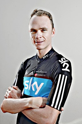 Chris Froome cover shoot for Procycling magazine by Pete Goding