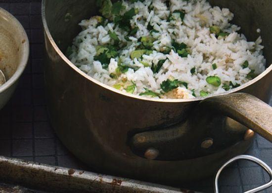 Sesame Cilantro Rice