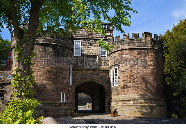 Skipton Castle, the inspiration for the School for Wayward Girls (book 6)
