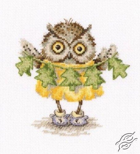 Christmas Tree Necklace - Cross Stitch Kits by RTO - C229