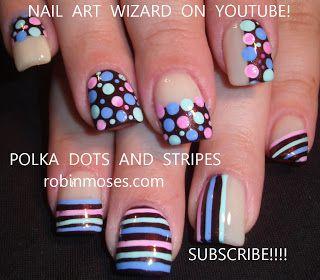 #nails #black #polkadots #dots #nailart