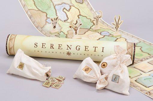 Student Work: Nina Reck: Serengeti Board Game