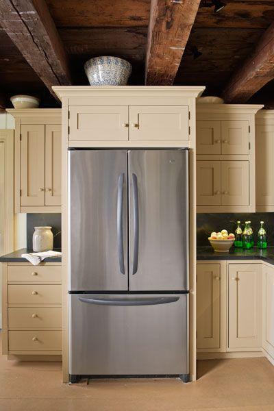 Fridge In Kitchen 25+ best farmhouse refrigerators ideas on pinterest | farmhouse