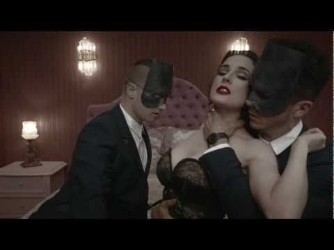 ~I'm so afraid giving to you endlessly.  Look for your touch.Never have I died so much..~    Monarchy ft. Dita Von Teese - Disintegration