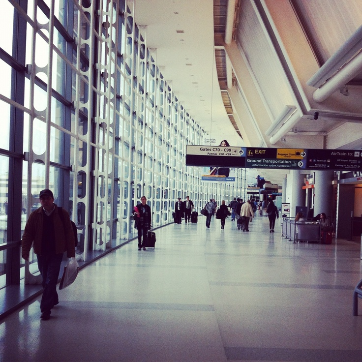 EWR - How many times have I walked this walk
