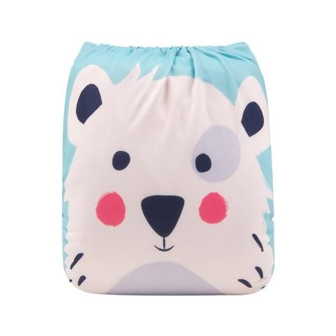 mustache Modern Cloth Reusable Washable Baby Nappy Diaper /& Insert