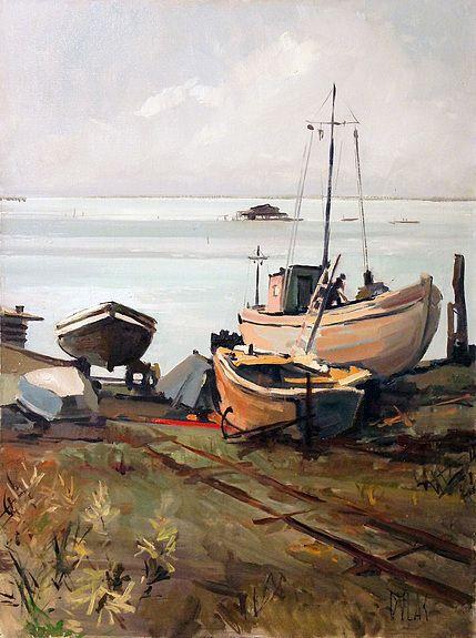 Malamocco Barcos (Venecia)