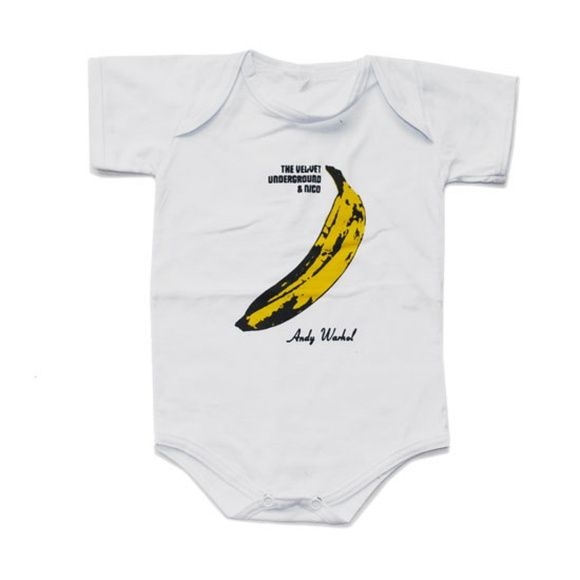 Por apenas R$19,90 a unidade de cada body!     Body Velvet Underground e Nico - Warhol R$ 19,90  ou 4x de R$ 5,34 no cartão
