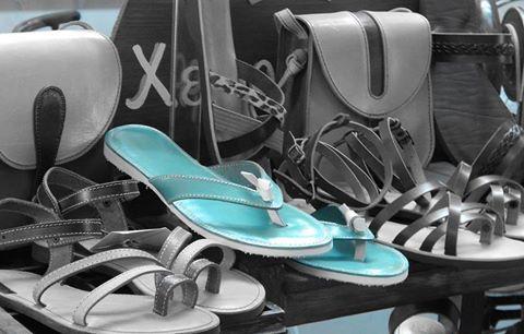 Romba's handmade leather sandals ....