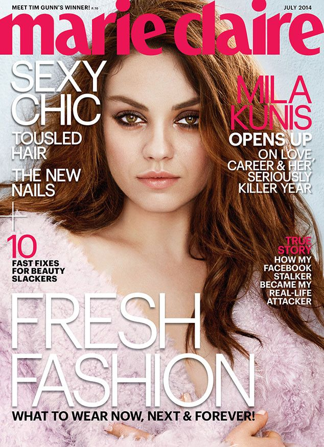 "Mila Kunis Doesn't Want Ashton Kutcher to See Her Vagina When She Gives Birth: ""It Will Be Shredded!"""