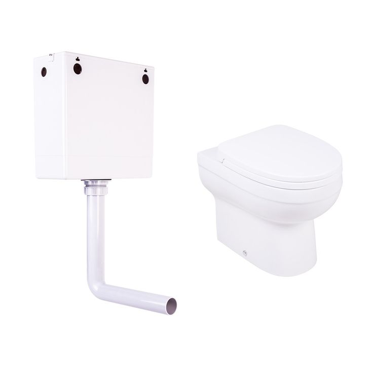 """Back to Wall Toilet Concealed Cistern Quick Release Soft Close Seat 10 year """"fit and forget"""" guarantee"""