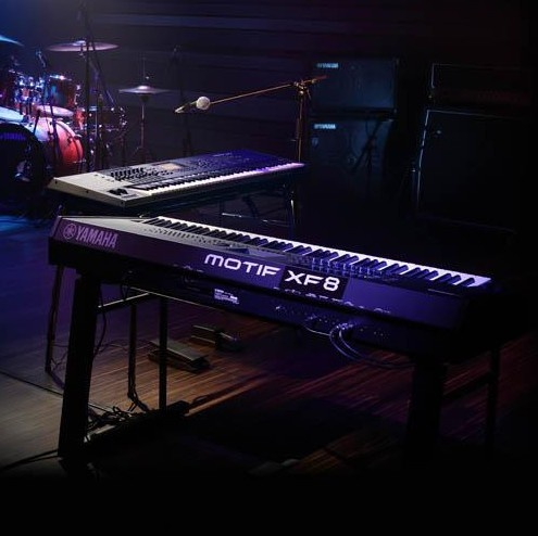 17 best images about home music studio on pinterest home for Yamaha motif xf8 88 key music production synthesizer