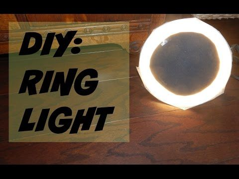 Nikole DeBell Beauty DIY Ring Light Diva Ring alternative  Beauty video lighting