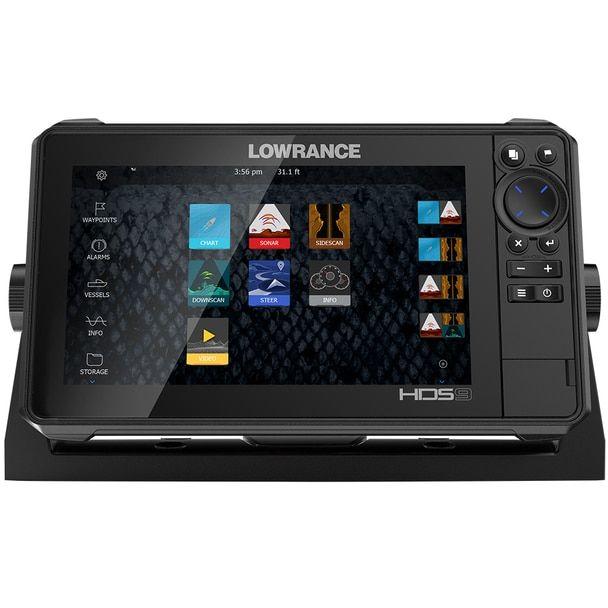 Lowrance HDS 9 LIVE No Transducer w/C-MAP Pro Chart [000