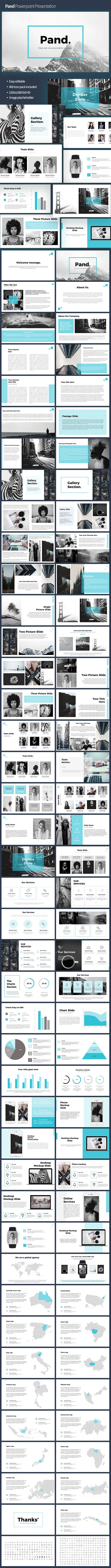 Pand #Powerpoint Template - PowerPoint Templates #Presentation Templates