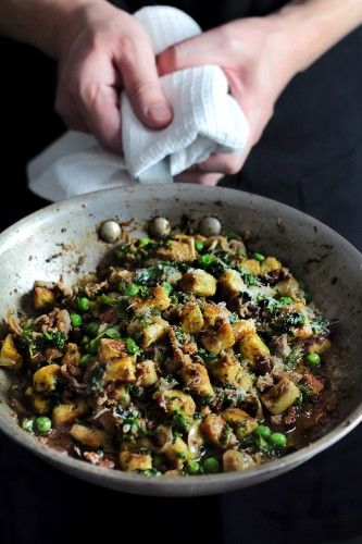 Herb Gnocchi - most amazing gnocchi iv ever had, though I would adapt sauce or even have on own as, while good for pasta, it overpowers the amazing flavours of the gnocchi. Gnocchi itself is a showstopper!