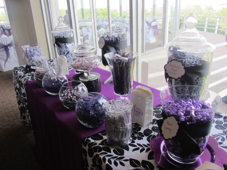 Purple Ideas For Weddings: 17 Best Images About Purple & White Retirement Party On