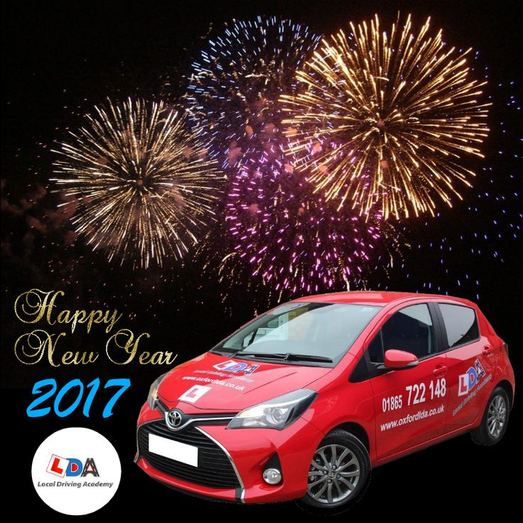 Happy new year to all of our LDA students, trainers, members, and our lovely fans. Let's make the New Year… a year of safe driving. Have a blast guys! :)   #HappyNewYear #NewYear #DrivingSchool #SafeDriving #Oxford #UK #LocalDrivingAcademy #NewYear2017 #NewYearsEve