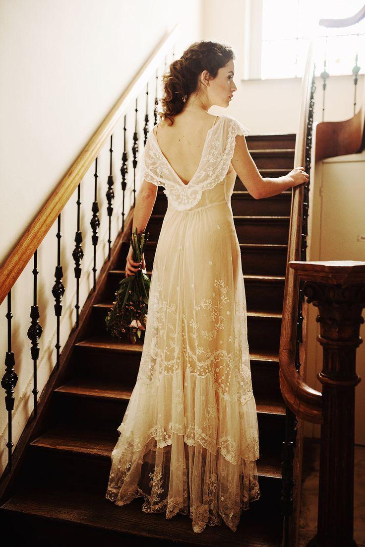 Edwardian wedding dress   best Weddings images on Pinterest  Wedding dressses Marriage