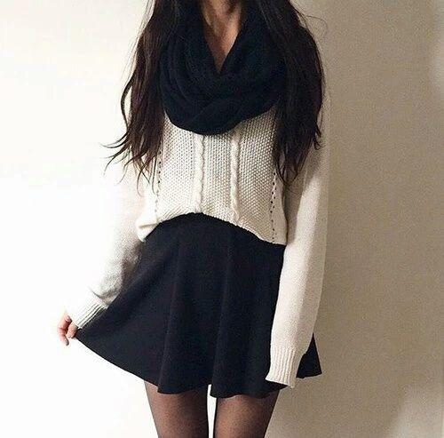 Outfits para integrar a tu bufanda en días de frío
