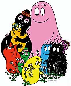 Barbapapa...I LOVED these books! I always wanted to live in their underground homes w/circular doors & windows.