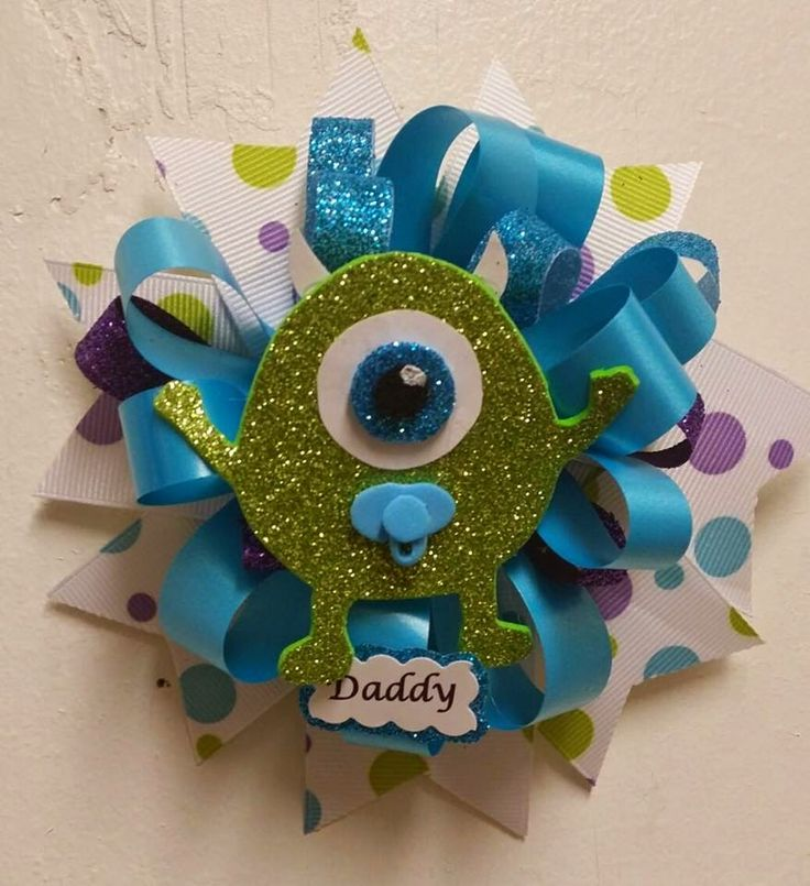 diy monsters inc baby shower ideas | Baby Monsters Inc