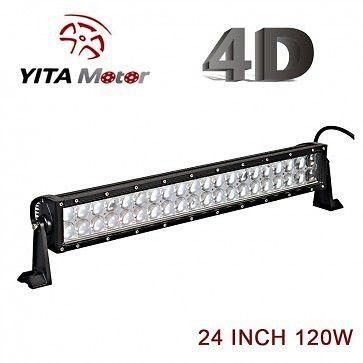4D Lens 24 Inch 120W Dual Row Offroad LED Light Bars B120-D5-4D-Yita