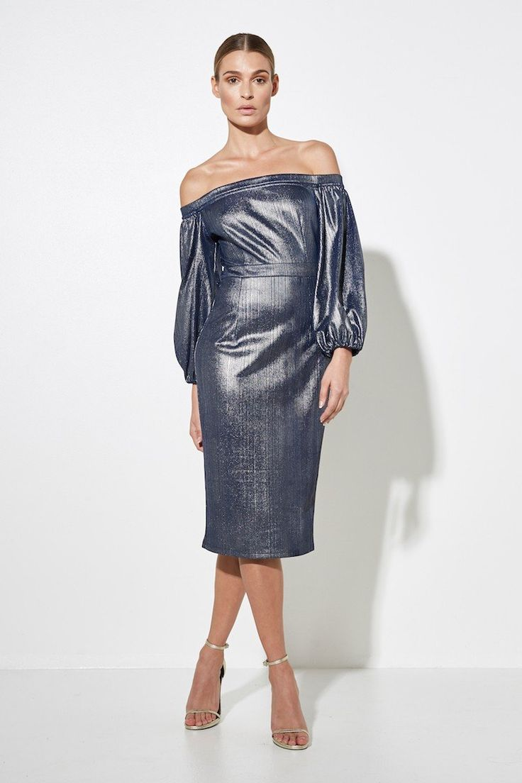 Mossman - The Boiling Point Midi Dress