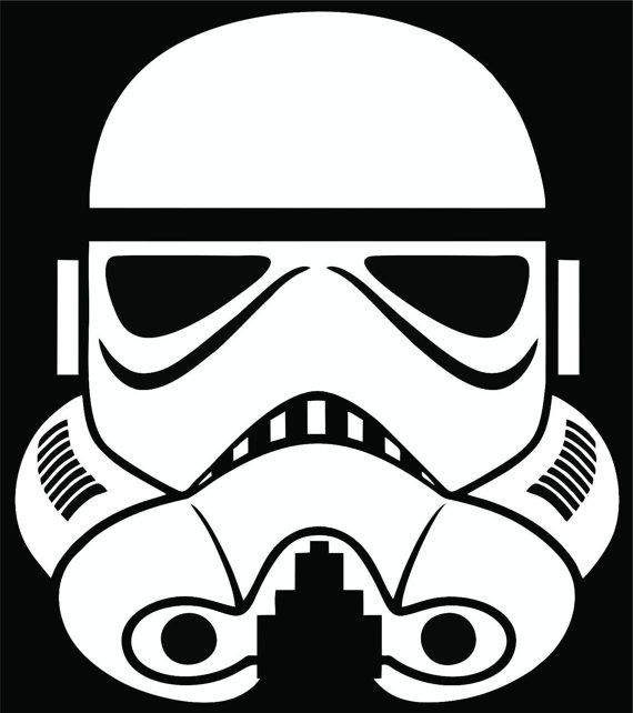 Star wars stormtrooper decal sticker tire cover by covesigns
