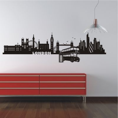 deko-shop-24.de-Wandtattoo-Skyline London