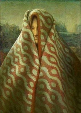 Monalisa in the winter season mode xD