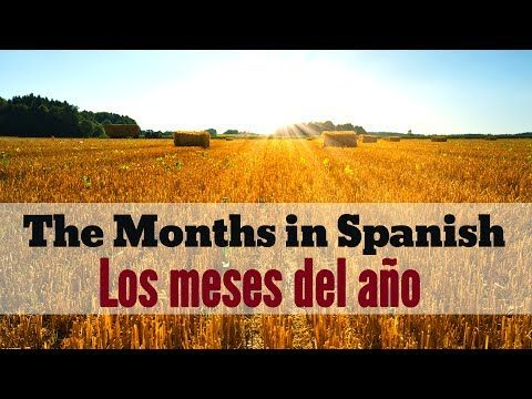 How to write & say the months of the year in Spanish (conversations + quiz) | Spanish Learning Lab