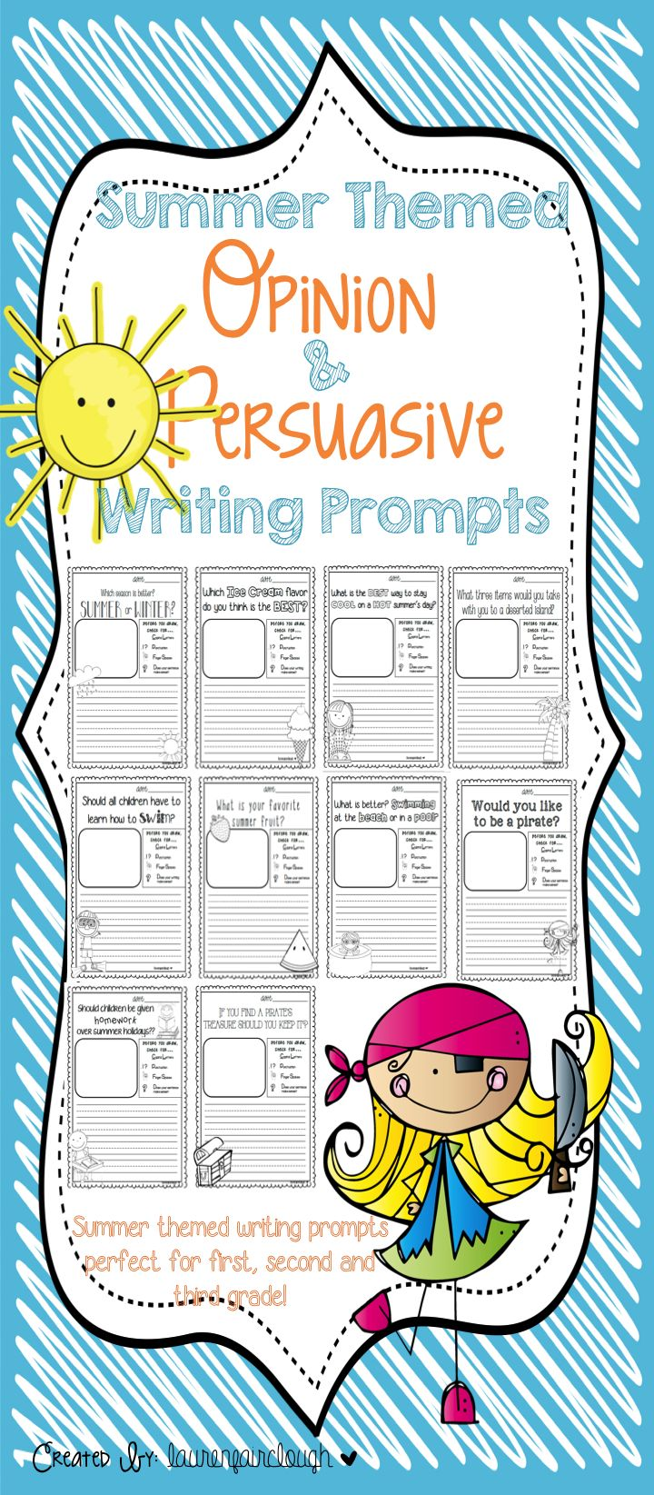 Fourth Grade Reading   Writing Worksheets  Persuasive Writing Prompt