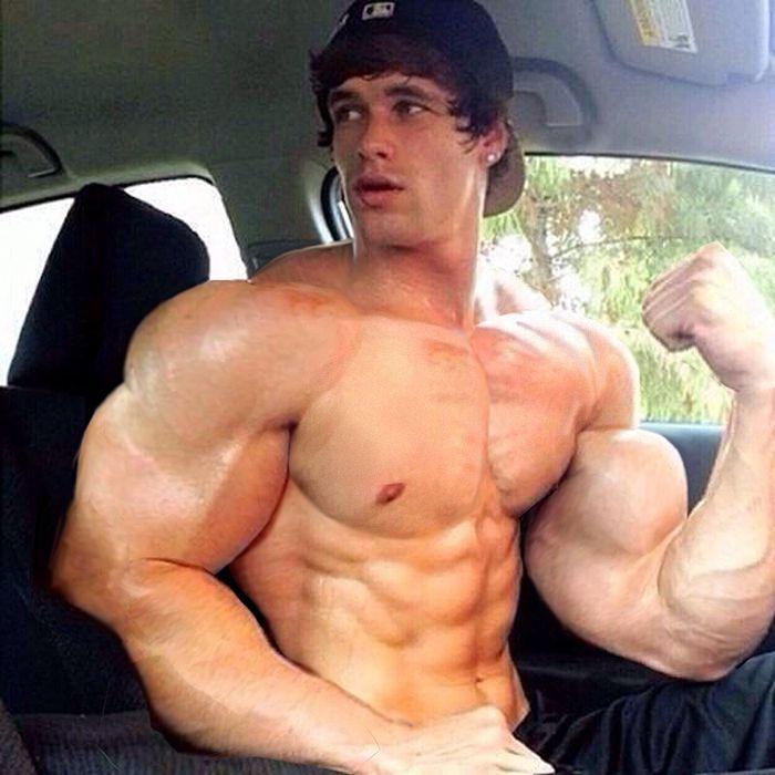 from Gannon auto bicep car gay gun muscle