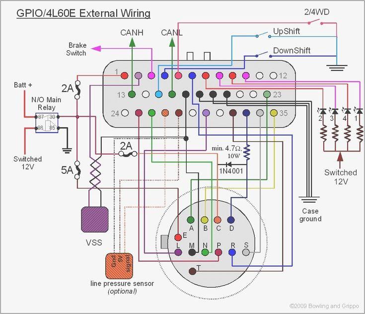 Wiring Diagram For 4l80e Transmission, 4l80e Wiring Diagram